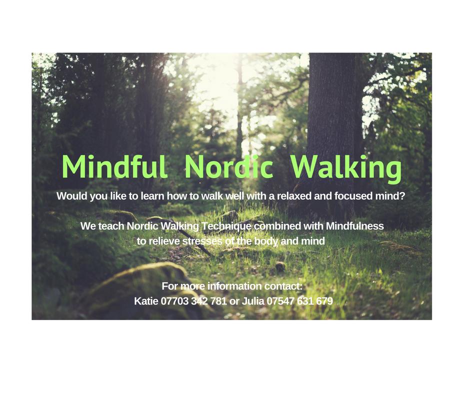 Mindful Nordic Walking