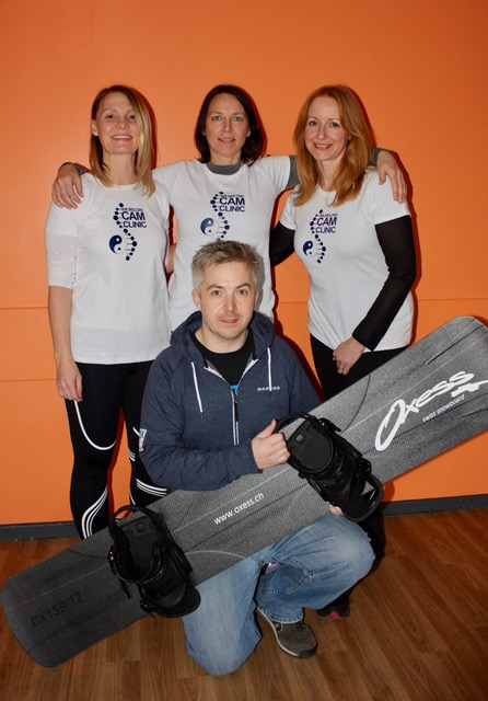 Team Wilmslow CAM Clinic raising funds for Dominic O'Gara